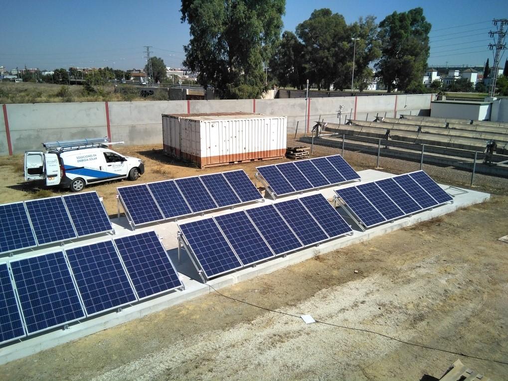 Demo 1 - hybrid PV-T solar collectors