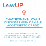 LowUP chat segment