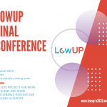 LowUP Final Conference poster