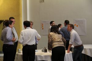 LowUP partners interacting during KickOff Meeting in Sevilla