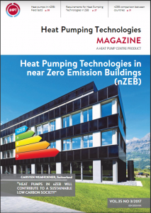 Heat Pumps in near Zero Emission Buildings (nZEB) - in the new issue of the HPT Magazine