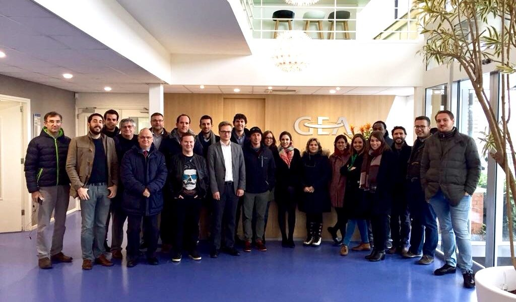 LowUP partners at the 2nd General Technical Meeting, 's-Hertogenbosch Netherlands
