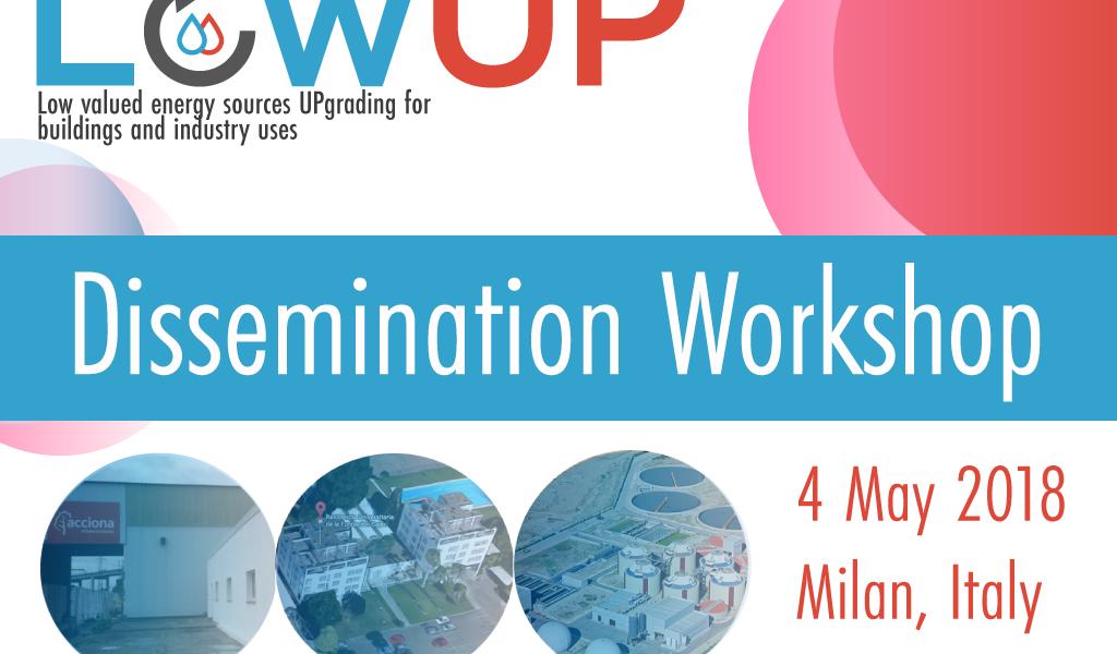 LowUP Dissemination-workshop-banner